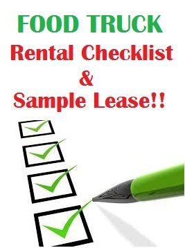 Food Truck Checklist & Sample Lease