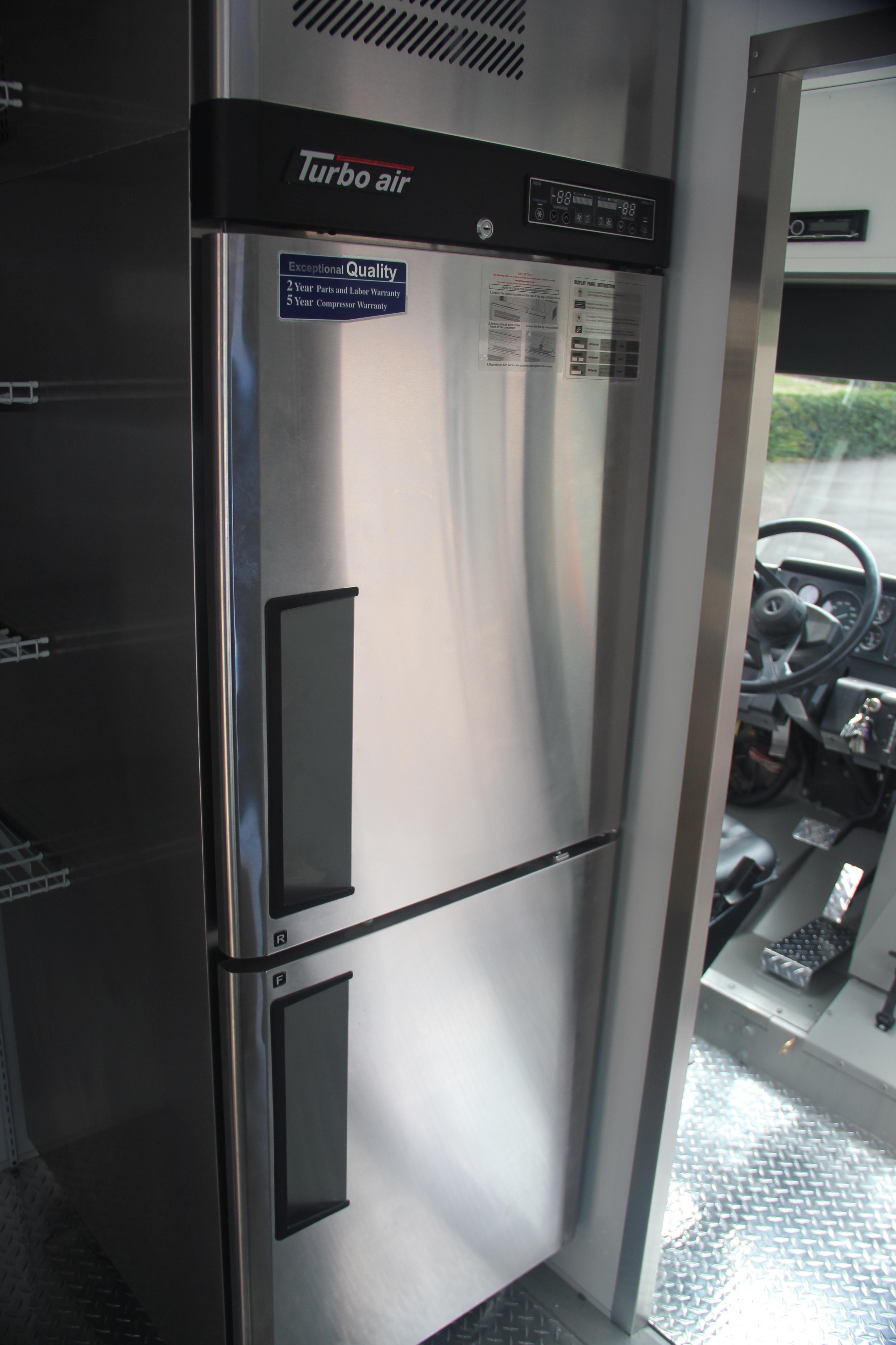 Stand up fridge