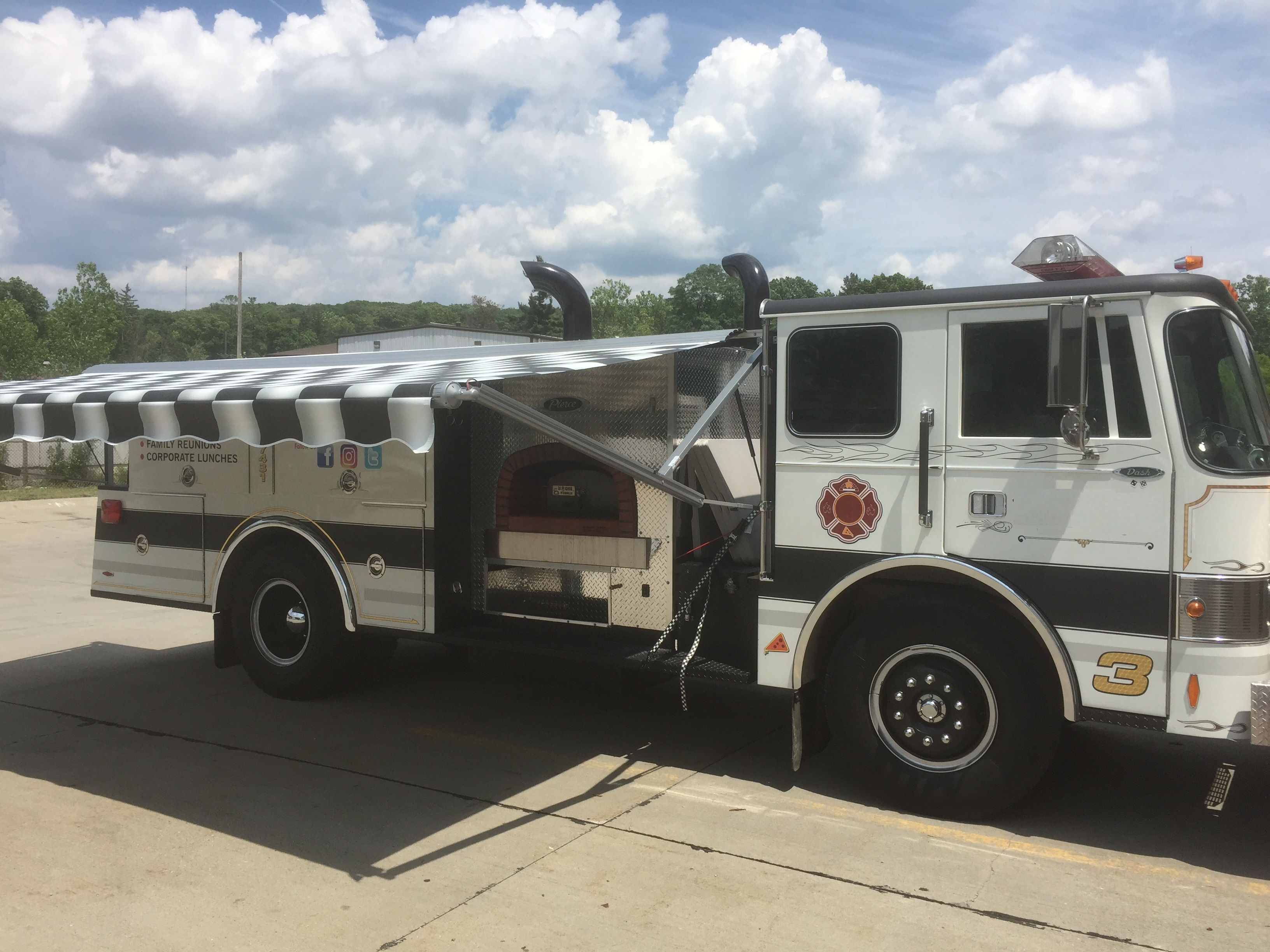 Fire Engine Food Truck Side Food Trucks For Sale Used