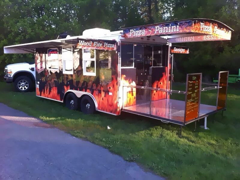 Wood Fire Pizza Trailer Canada For Sale Contact Us