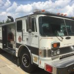 Fire Engine Food Truck For Sale